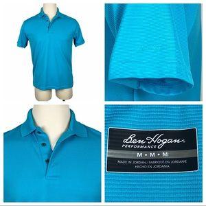 ExcCond Ben Hogan Performance Blue Polo Medium